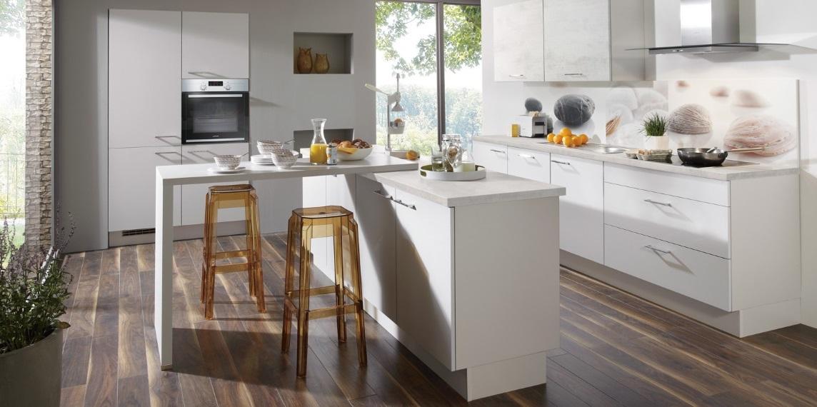 Кухня с островом nobilia Laser417