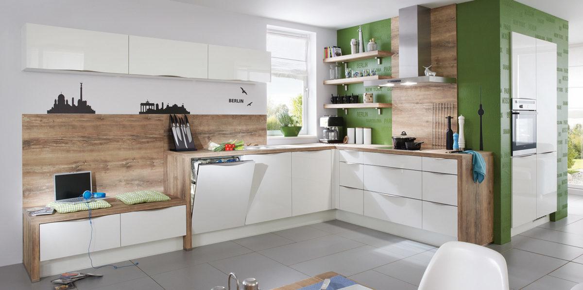 Угловая кухня Focus, nobilia