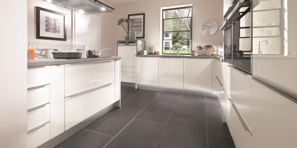 Кухня Lux, nobilia