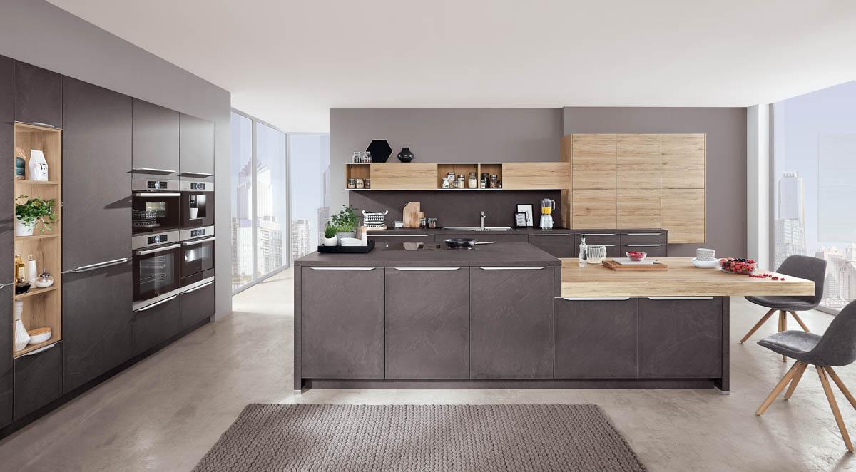 кухня под камень nobilia