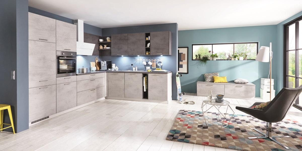 Кухня nobilia Riva Beton