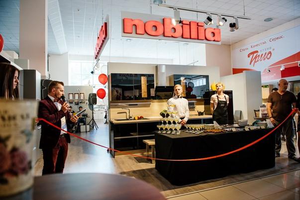 Салоны nobilia теперь и в России