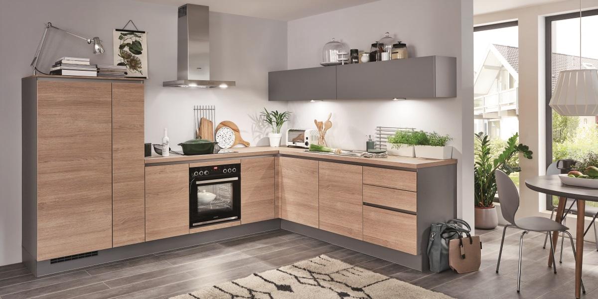 Угловая кухня Riva, nobilia