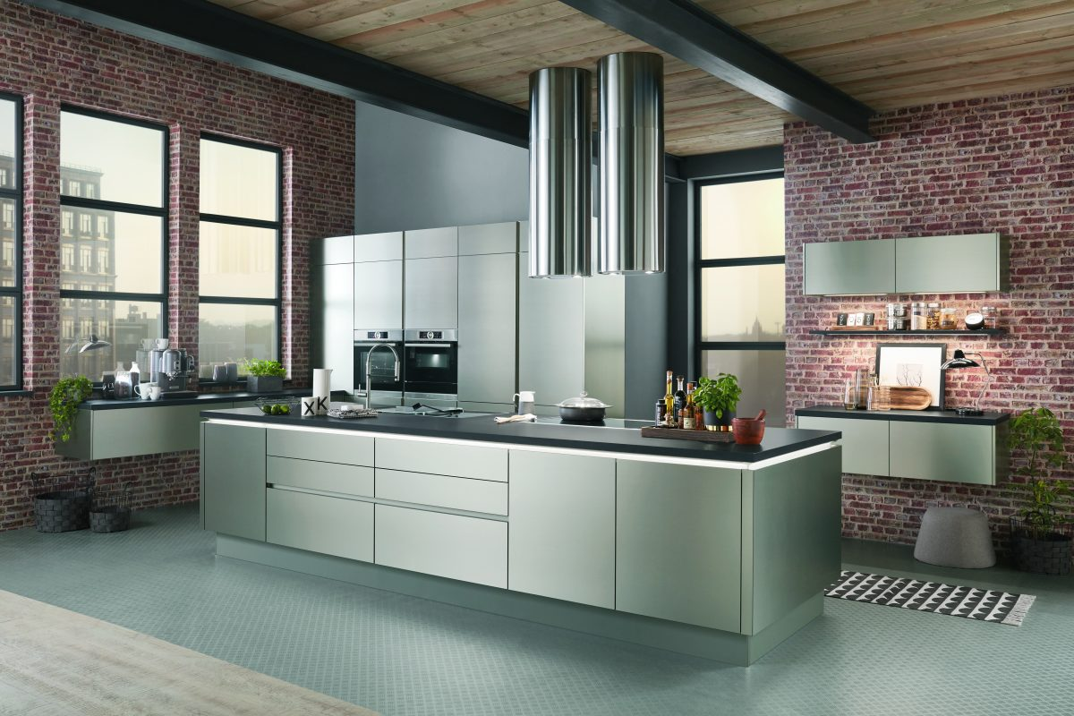 INOX — инновационная кухня фабрики nobilia в рубрике «на карандаш» журнала «In/Ex»