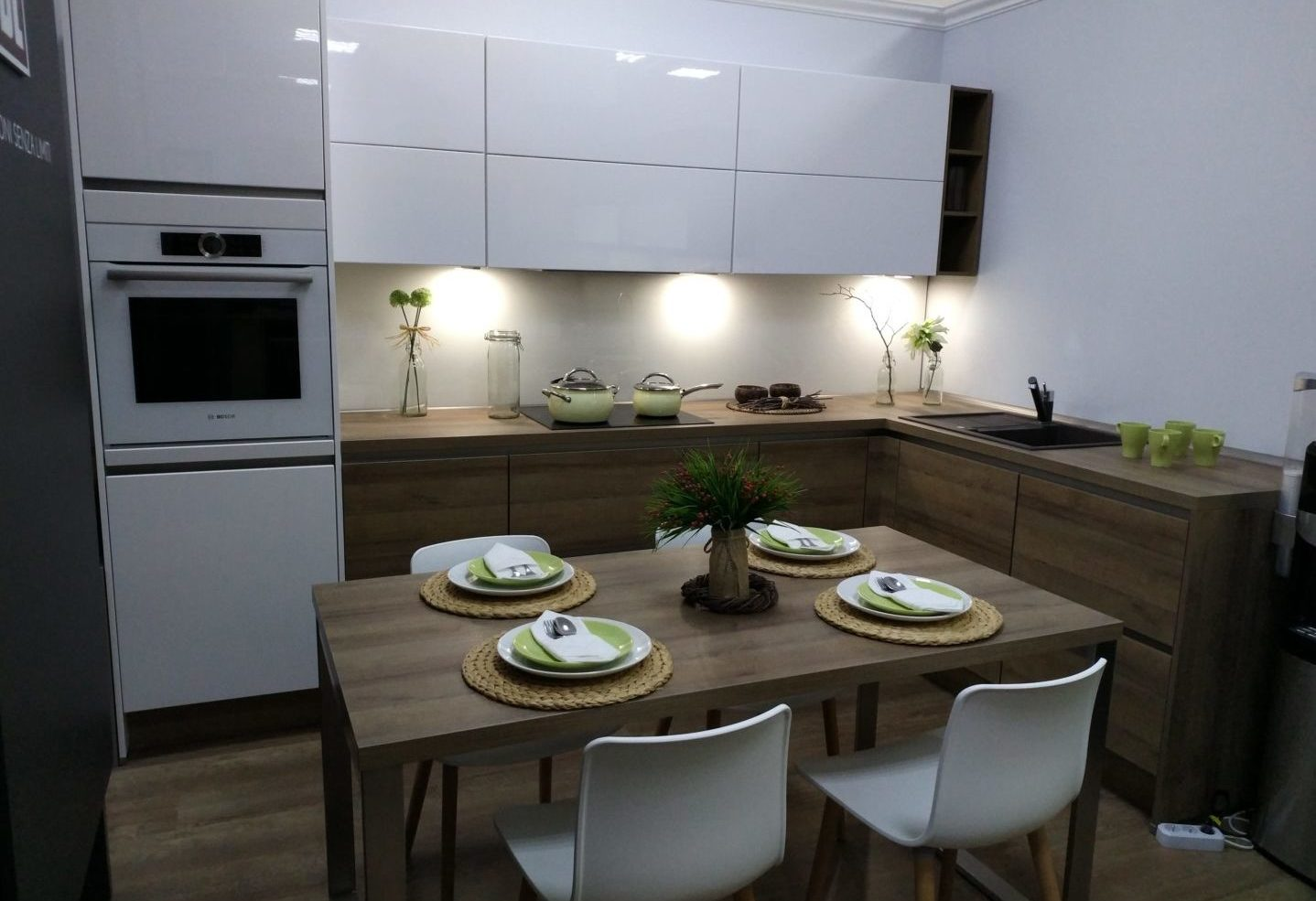Кухня Riva + Lux Line-N