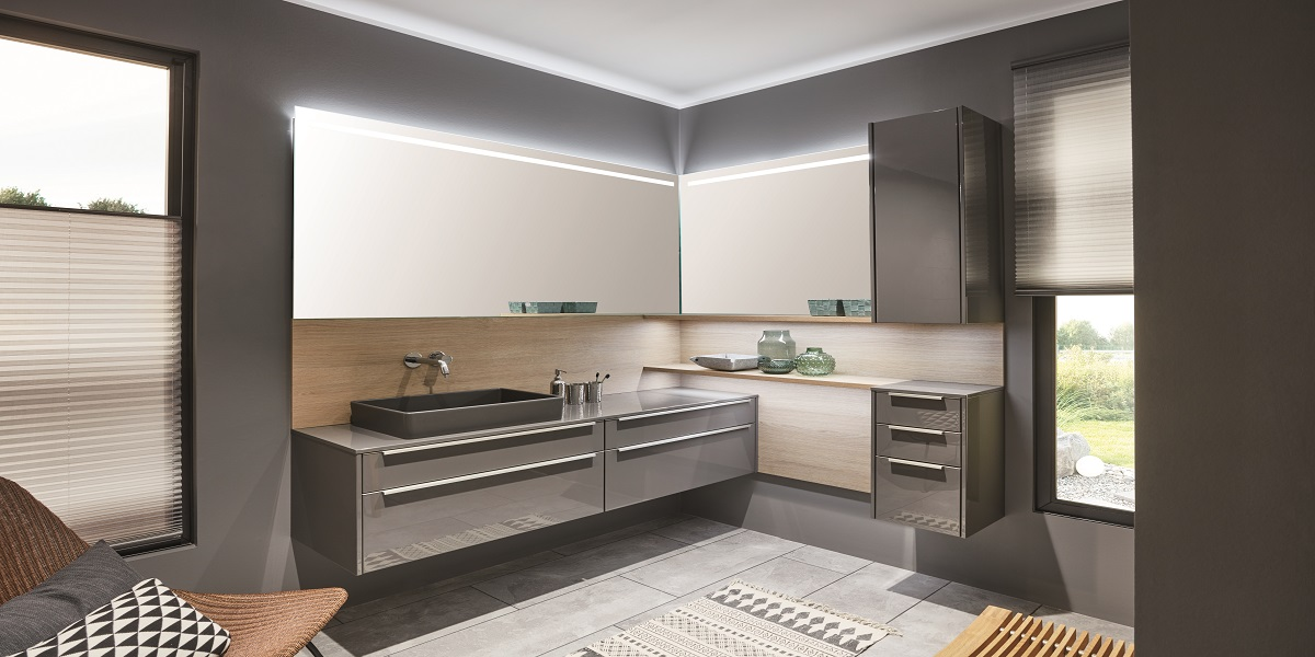 Мебель для ванной Lux 823, nobilia