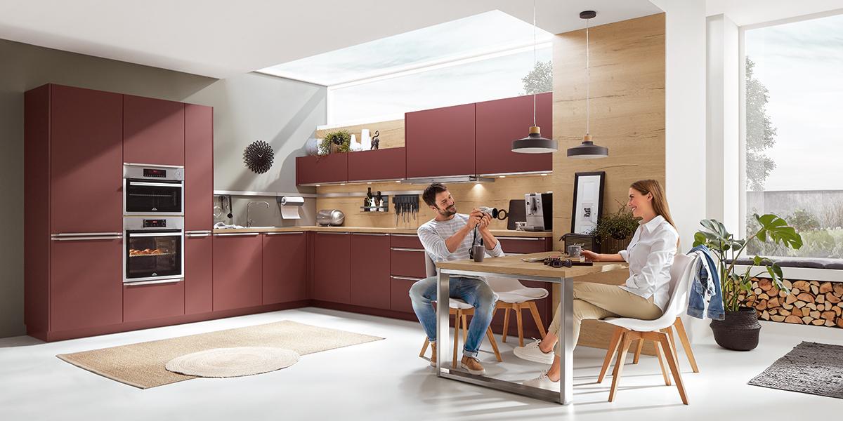 Современная кухня Easytouch, nobilia