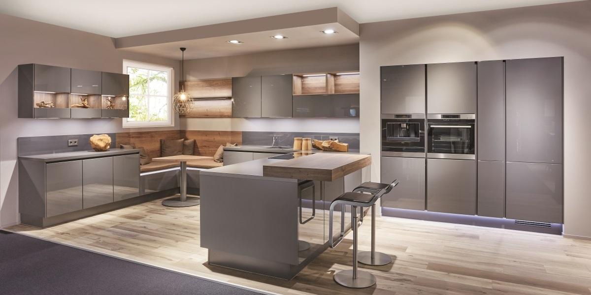 Кухня-гостиная Lux, nobilia