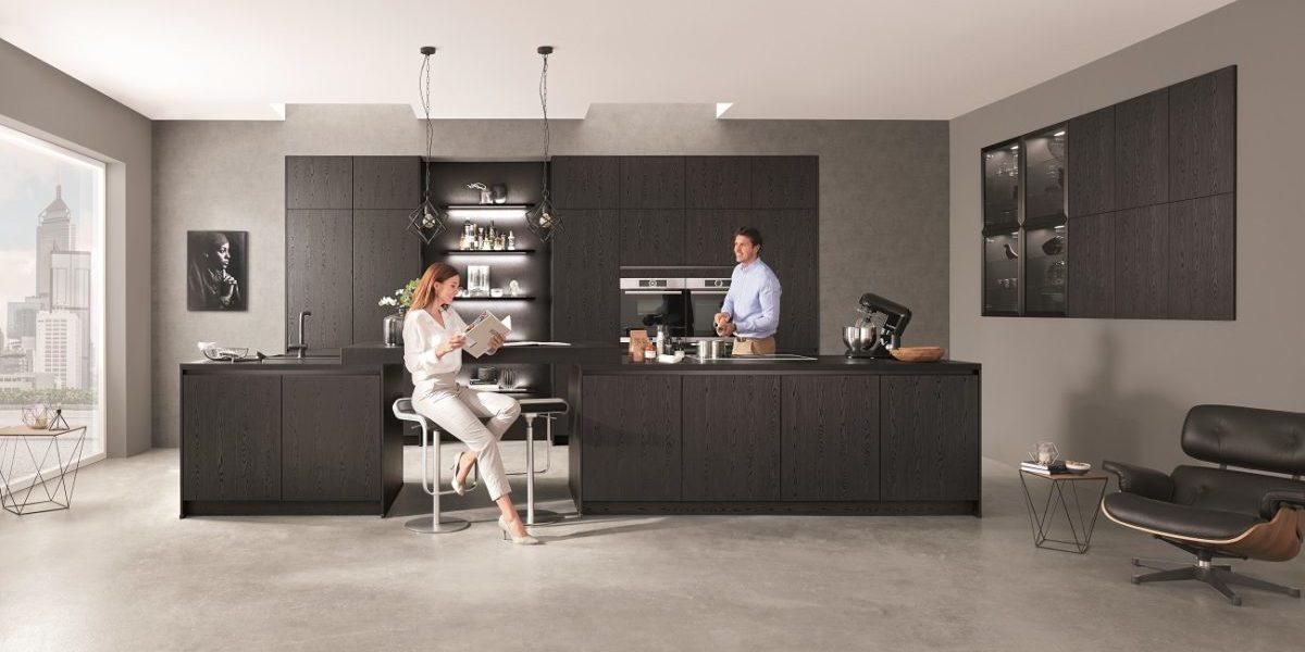 Интерьер кухни nobilia Structura403