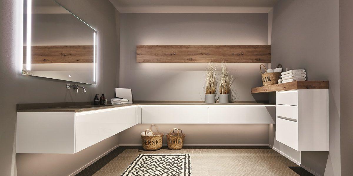 Bathroom Lux, nobilia