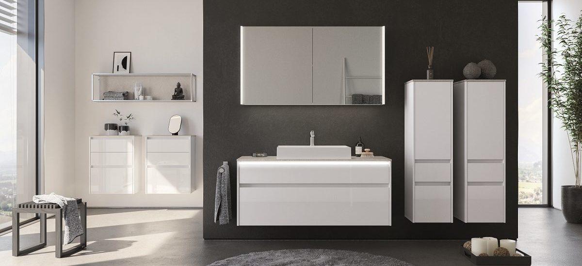 Мебель для ванной комнаты Lux, nobilia