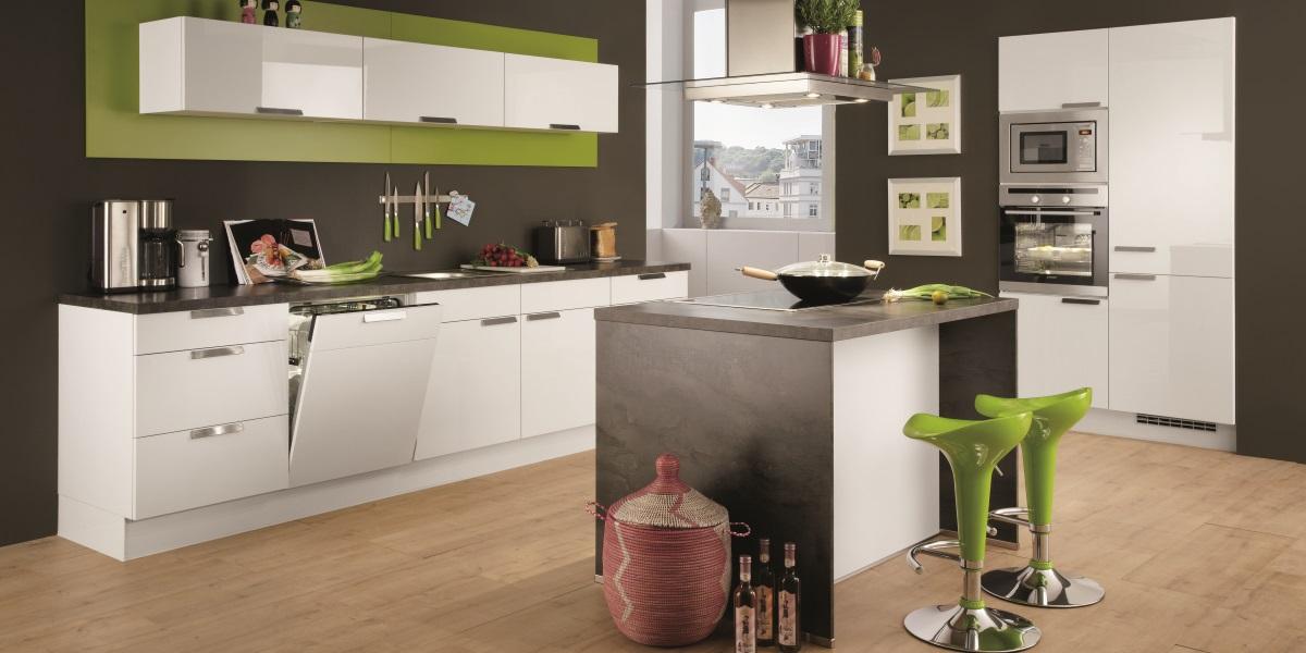 Кухня с островом Focus в студии, Германия